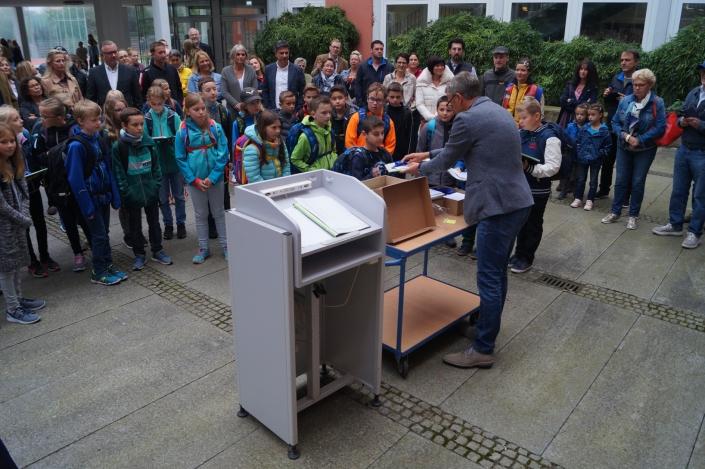 1. Schultag für neue 5. Jgst._KEG_Amorbach